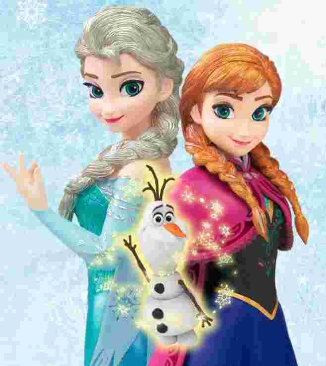 日空版 魂限定 冰雪奇缘 雪之女王 艾莎 雪宝 安娜