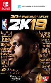 9/11發售預定 NS-NBA 2K19 20週年紀念版(亞中文版)亞版