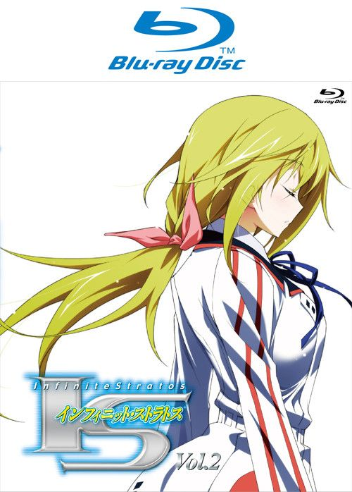 IS (Infinite Stratos) VOL.4 Blu-ray Disc