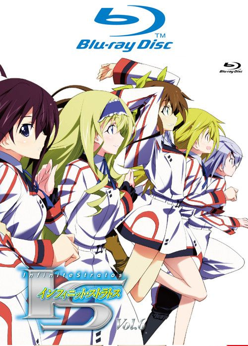 IS (Infinite Stratos) VOL.6 Blu-ray Disc
