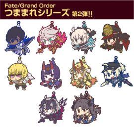 預約10月 日空版 COSPA Fate FGO 軟膠鑰匙圈 吊飾 20款分售 07