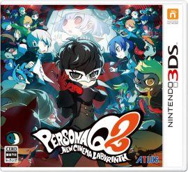 3DS-女神異聞錄 Q2 新電影迷宮 日版