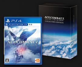 純日版 PS4 空戰奇兵 7:未知天際 初回限定生產版
