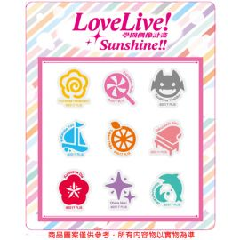 【博英社】Love Live! Sunshine!! 紋身貼紙