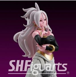 預約 6月 日版 保證到貨 日版 魂商店 SHF S.H.F 七龍珠 人造人 21號