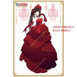 《約會大作戰DATE A BULLET-時崎狂三-Fantasia 30th-大掛軸 G》角川 受注
