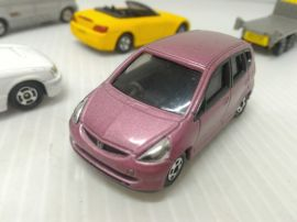 絕版 多美卡 TOMICA NO.100 HONDA FIT 合金車 模型車 玩具車(03