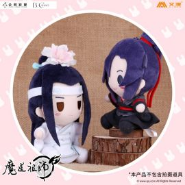 KAKITONO|8月新品預售|魔道祖師:Q版絨毛娃娃吊飾(贈特典徽章)|官方正版周邊|墨香銅臭|魏