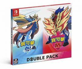 預購11.15發售 中文版 雙重包 附購買特典 Switch 寶可夢 劍 盾 精靈寶可夢 雙包裝 組