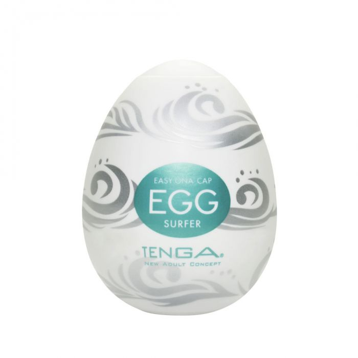 【現貨】【TENGA】《【H18】TENGA EGG HARD GEL 彈力款健慰蛋 SURFER 波濤洶湧》