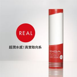 【現貨】【TENGA】《【H18】HOLE LOTION 潤滑液 REAL(紅)》