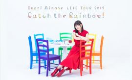 (四葉亭)預約10月(店舖自選)BD 水瀨祈 Inori Minase LIVE TOUR Catch the Rainbow