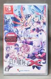 【月光魚 電玩部】全新現貨 純日版 附初回特典 NS 銀白鋼鐵 X THE OUT OF GUNVOLT 現貨全新