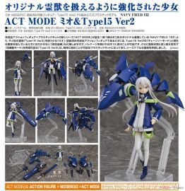 【怨念事務所】預約商品 7月(免訂金)ACT MODE Mio&鯊魚型靈獸 Type15 Ver2 可動模型完成品+套件 1222