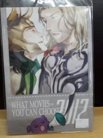 【yaoi會社 寄賣】二手/2012影視推廣/d.m《what movies you can choose in2012》同人誌#515