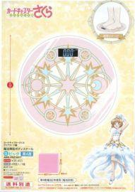日空版 FuRyu 景品 庫洛魔法使 透明卡牌篇 魔法陣造型 體重機