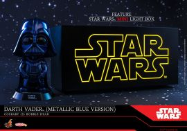 漫玩具 全新 Hot Toys Cosbaby COSB695 Star Wars 星際大戰 Marvel Light Box 燈箱 + Darth Vader 黑武士