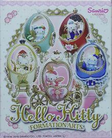 漫玩具 全新 SQUARE ENIX SANRIO HELLO KITTY FORMATION ARTS 凱蒂貓 五入一組