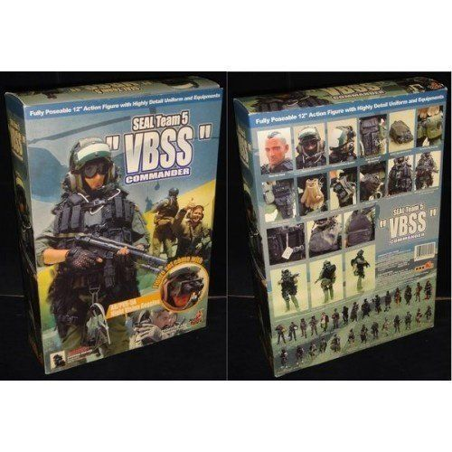 漫玩具 全新 HOT TOYS 1/6 海豹突擊隊 SEAL TEAM 5 VBSS COMMANDER