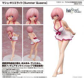 日空版 Fate FGO 瑪修 Summer Queens 1/8 完成品 0301