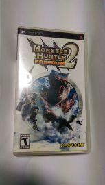 美版 英文版 二手 PSP 魔物獵人2 Monster Hunter Freedom 2