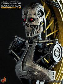 漫玩具 全新 Hot Toys DMS03 魔鬼終結者 未來救贖 半胸像 Terminator Salvation T-700 Machine Statue Factory Diorama Bust