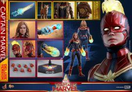 漫玩具 全新 Hot Toys MMS522 豪華版 Captain Marvel 驚奇隊長 Deluxe Version