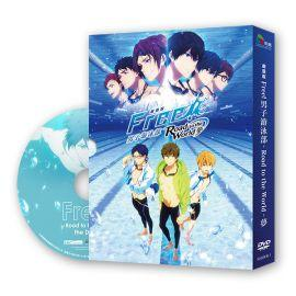 【采昌】劇場版FREE!男子游泳部-Road to the World-夢 DVD