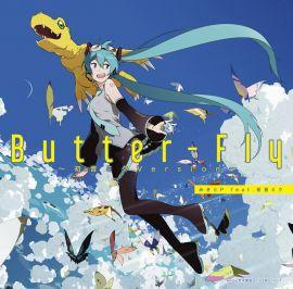 《NMBOOKS》日文CD 數碼寶貝x初音未來「Butter-Fly」みきとP feat. 初音ミク