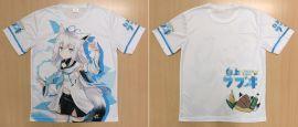 【現貨】【月貓創意】ホロライブVTuber 白上吹雪 白上フブキ hololive 同人T恤 繪師
