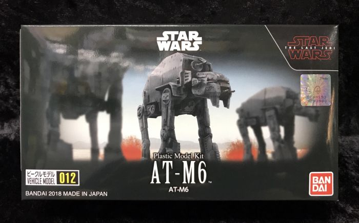 《GTS》BANDAI VEHICLE MODEL 星際大戰 012 AT-M6 0219779