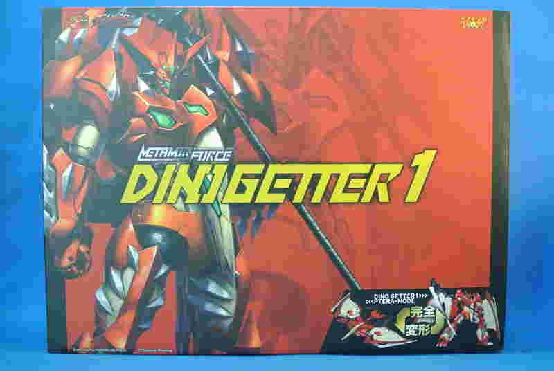 (參號倉庫露天支部) 現貨 千值練 METAMOR-FORCE 超合金 完全變形 恐龍蓋特 Dino Getter 1 真龍蓋特