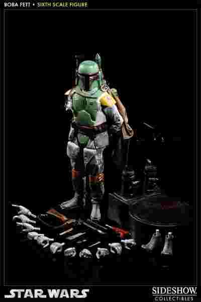 漫玩具 全新  Sideshow star wars 星際大戰 Boba Fett 賞金獵人 波巴費特