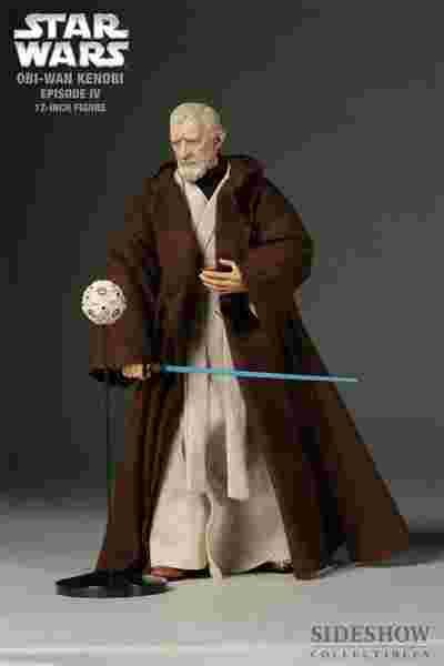 漫玩具 全新 Star Wars 星際大戰 SIDESHOW 限定版 絕地武士 obi wan 歐比王