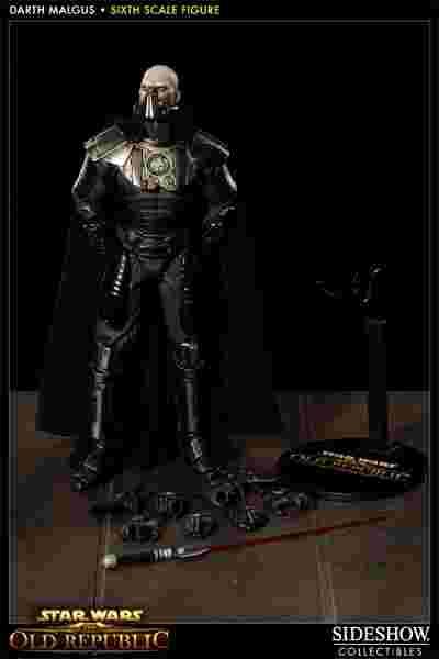 漫玩具 全新 Sideshow star wars 星際大戰 Darth Malgus 達斯瑪格斯a