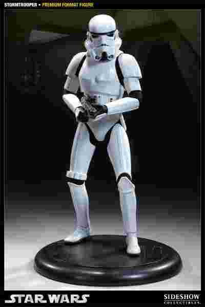 漫玩具 全新 Star Wars 星際大戰 SIDESHOW 1/4 premium stormtrooper 白兵