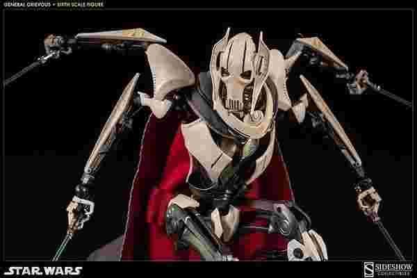漫玩具 全新 Star Wars 星際大戰 sideshow General Grievous 葛瑞芬斯將軍