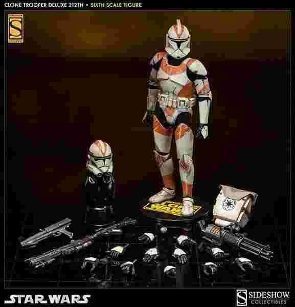 漫玩具 全新 SIDESHOW 星際大戰 STAR WARS 特別版 212th Battalion