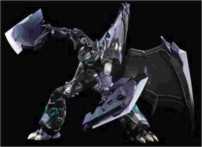 漫玩具 全新 會場限定 千值練 超合金 完全變形 黑恐龍蓋特 蓋特