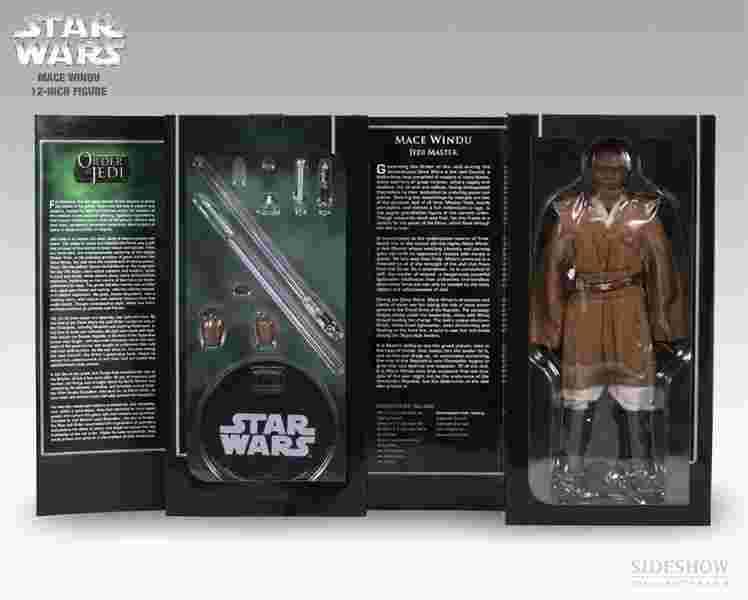 漫玩具 全新 Star Wars 星際大戰 sideshow Mace Windu 魅斯雲度 雲度大師