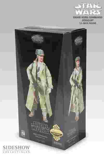 漫玩具 全新 SIDESHOW 星際大戰 STAR WARS REBEL COMMANDO SERGEANT 反抗軍突擊兵
