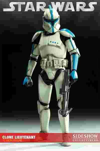 漫玩具 全新 Star Wars 星際大戰 SIDESHOW 限定 複製人白兵 TROOPER LIEUTENANT